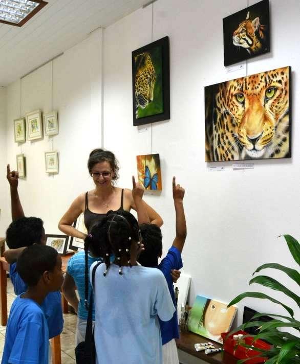 Exposition au Comité du Tourisme de la Guyane