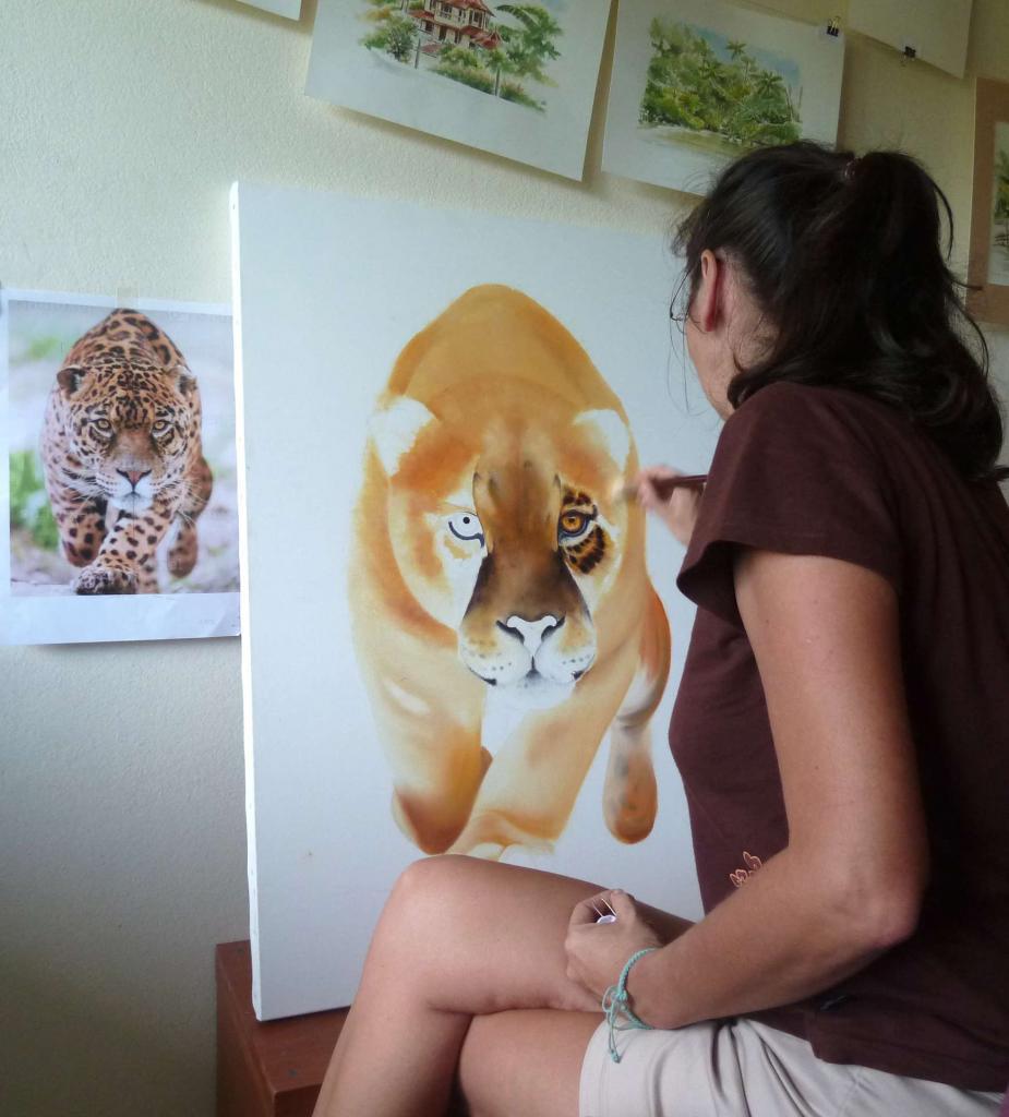 ...les débuts d'un jaguar !