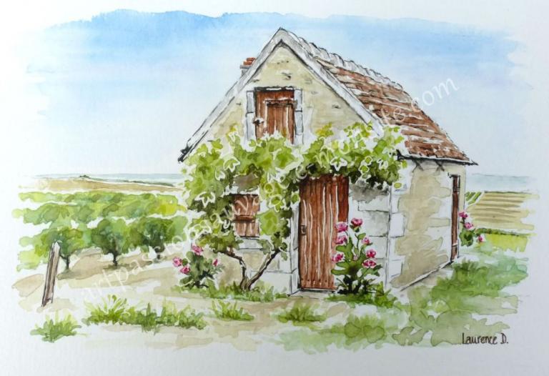 Maison de vigne en Touraine