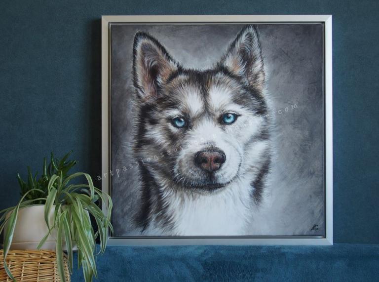 Husky acrylique