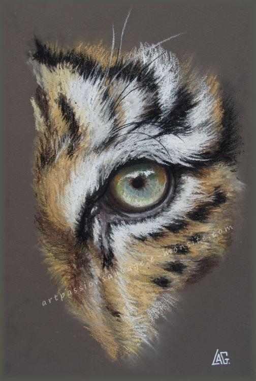 Tigre pastel