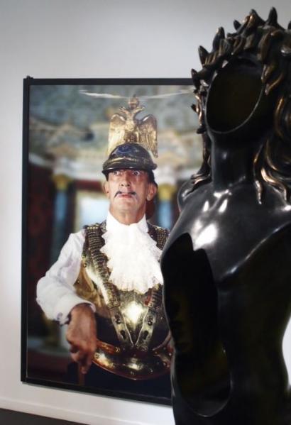 Portrait expo Dali à Nantes