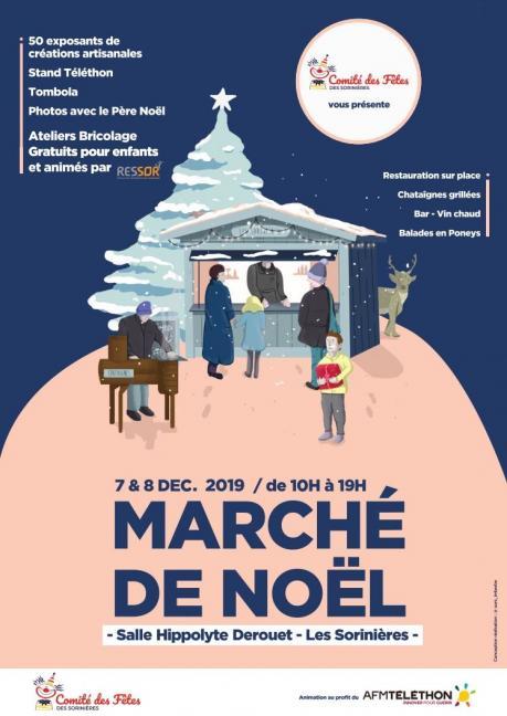 Marché de Noël - Les Sorinières