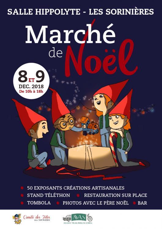 Marché de Noël des Sorinières