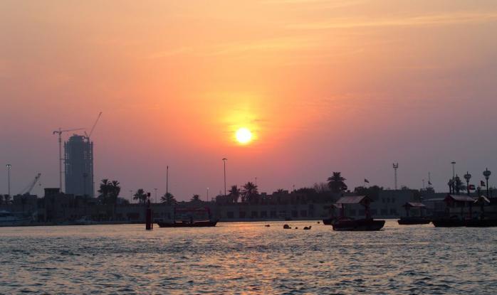 Couché de soleil sur Deira
