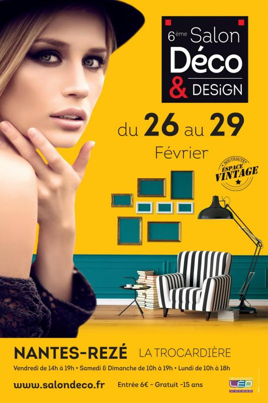 affiche salon deco design rezé 2016