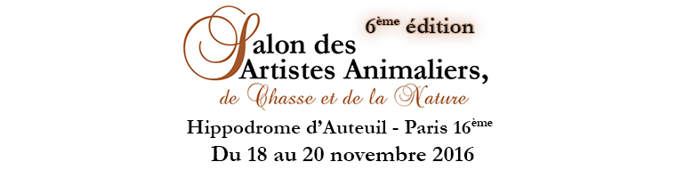 Logo salon artistes animalier hippodrome auteuil paris date