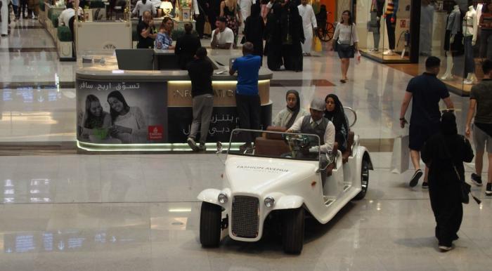 Dans Dubaï Mall