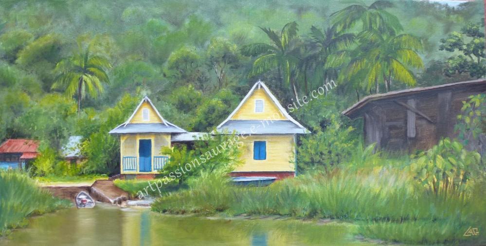 Village de Kaw - Guyane.