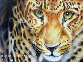 Huile sur toile 73x54 cm - LAG