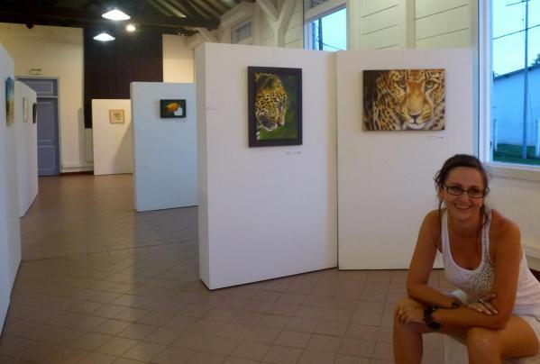 Expo personnelle en Guyane.