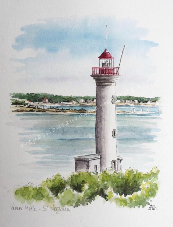 Phare du Vieux Môle - St Nazaire