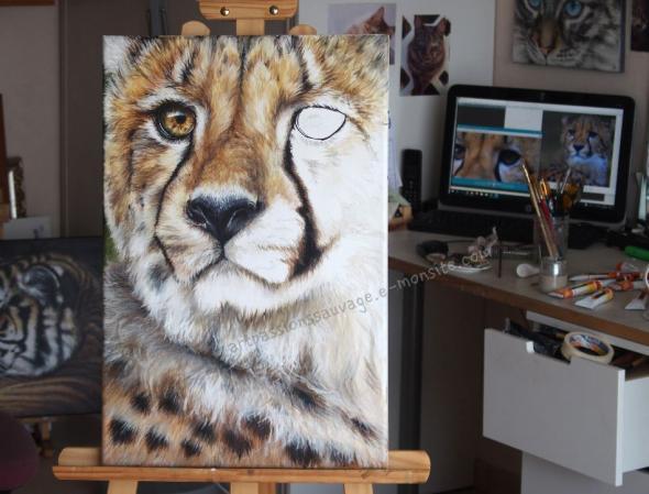 guépard art