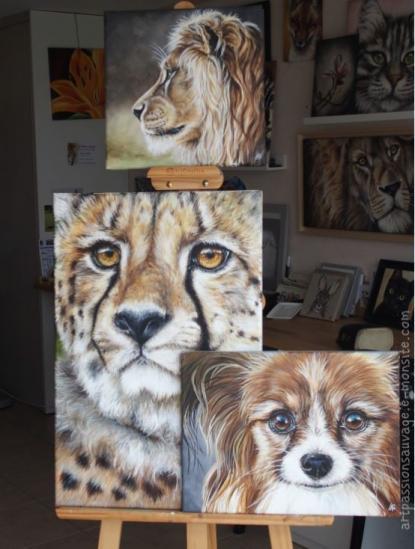 peintures animalières