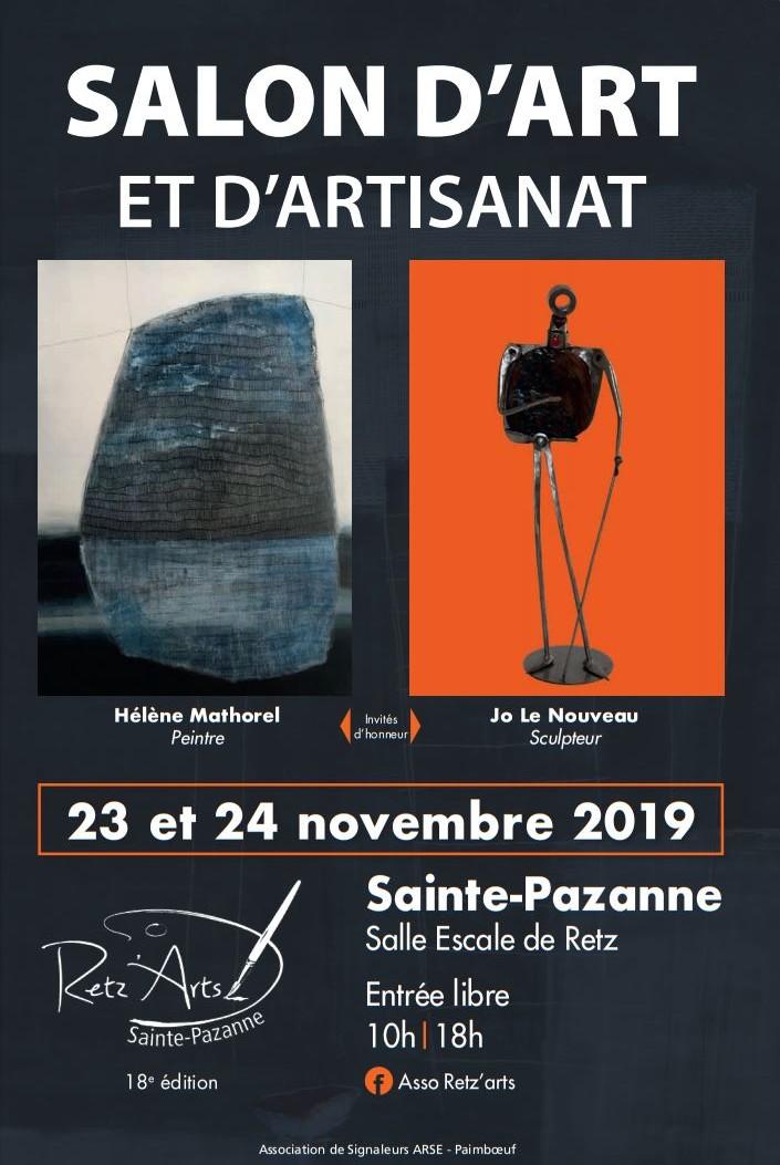 SALON D'ART et D'ARTISANAT de Ste PAZANNE